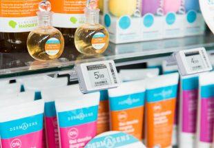 Etiquette vente pharmacie produit La Marque Verte