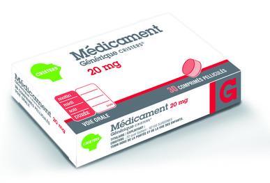 Boîte de médicament générique Cristers